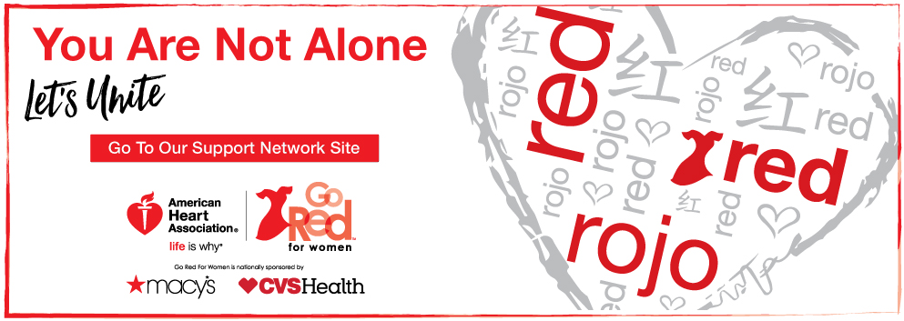 You Are Not Alone, Go to our support network site